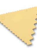 Peigne à Décor 3 Côtés Polypropylène ~ 9,3 x 8,3 cm