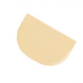 Raclette Demi-Rond Rigide Polypropylène ~ 11,3 x 7,5 cm