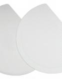 Raclette Demi Ronde Semi-Rigide Pour Bassine Polypropylène ~ 19,8 x 14,9 cm