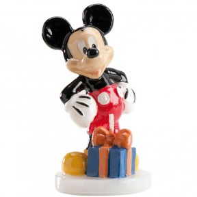 Bougie Anniversaire Mickey Mouse ~ 8 cm (RUPTURE)