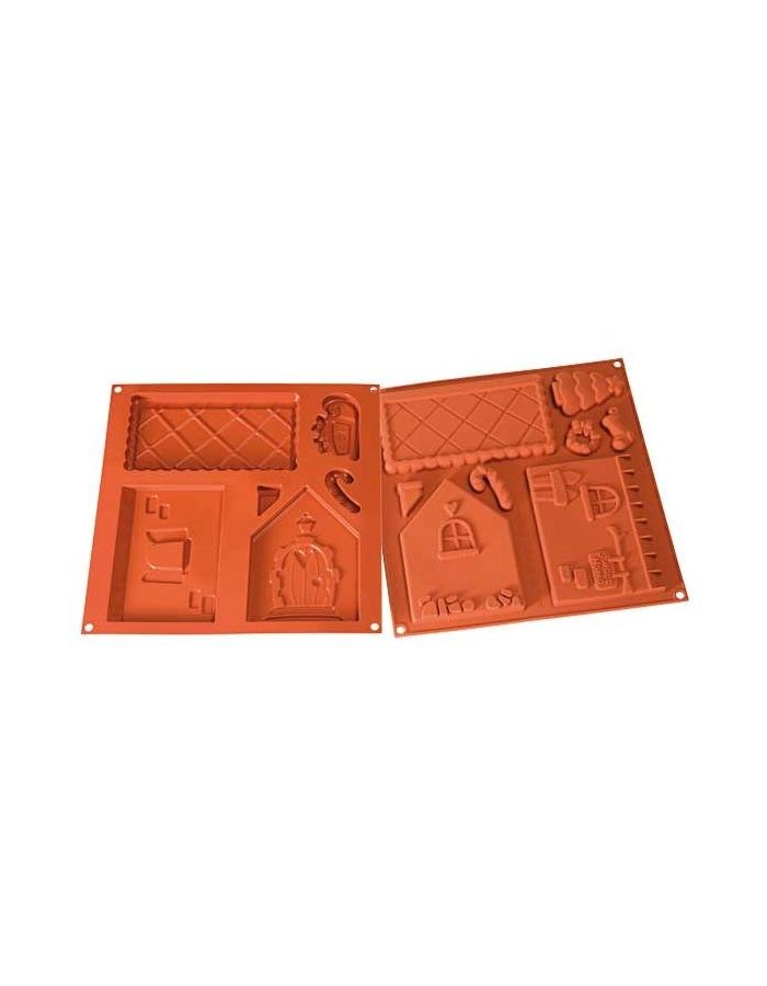 moule en silicone sweet home 18 cm hobbyscuit. Black Bedroom Furniture Sets. Home Design Ideas
