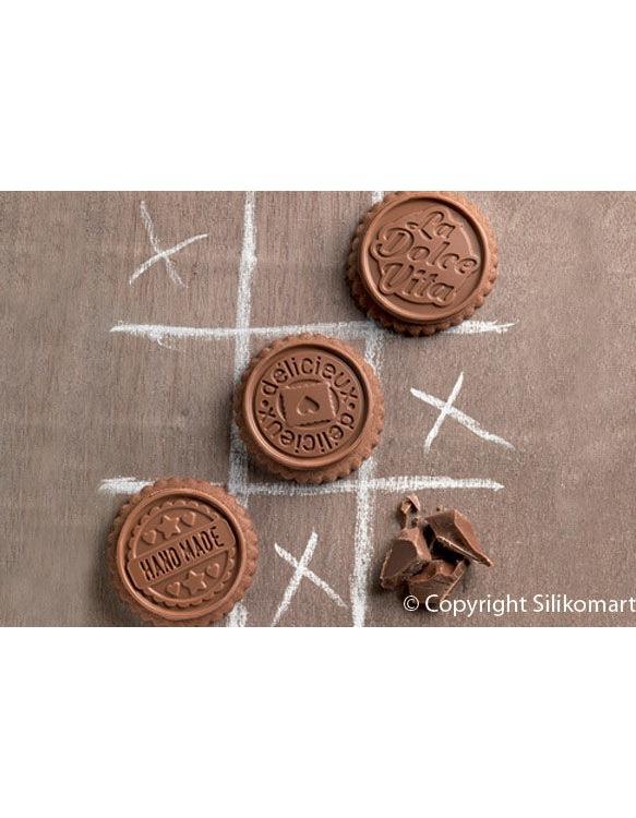 Kit Moules à Biscuit Cookie Choc Dolce Vita