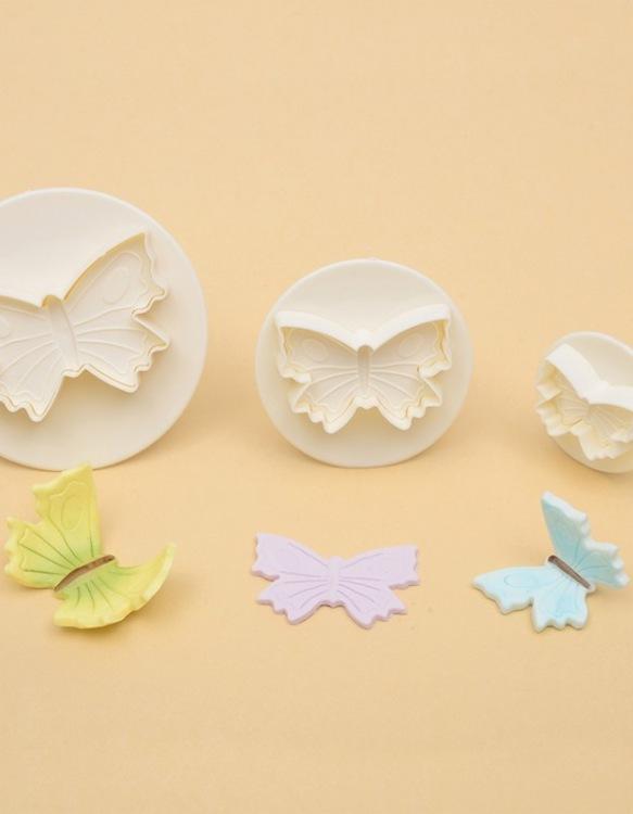 Kit 3 Emportes-Pièces Papillon