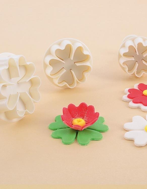 Kit 3 Emportes-Pièces Fleurs