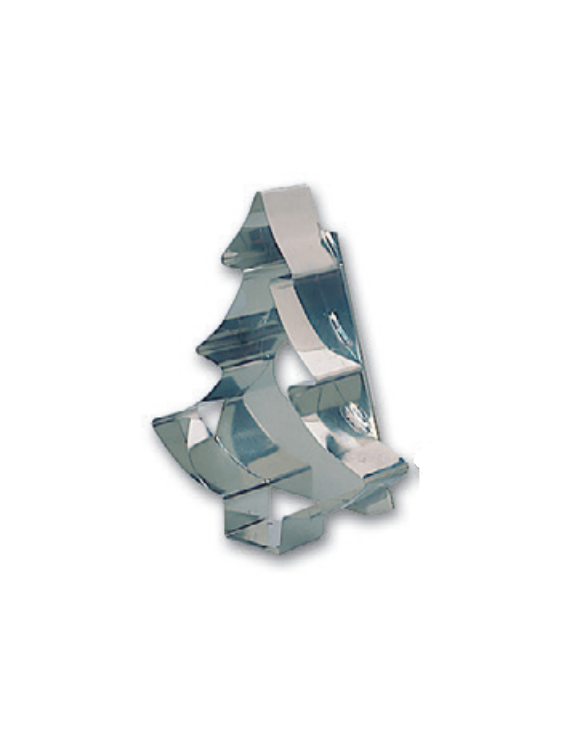 Emporte-Pièce Inox Sapin Noël ~ 20 cm