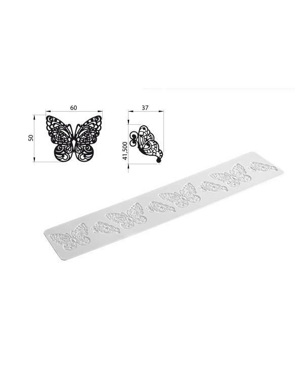 Tapis Texture Tricot 'Butterfly' ~ 40 cm