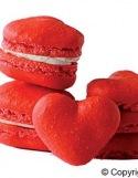 Tapis à Macarons Coeurs Silikomart