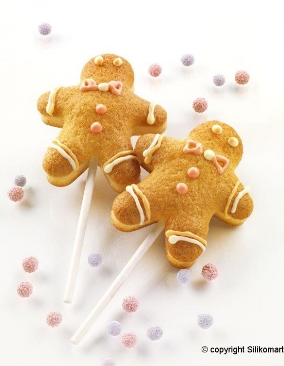 """Moules à Sucette 4 Easy Pop """"Ginger Pop"""""""
