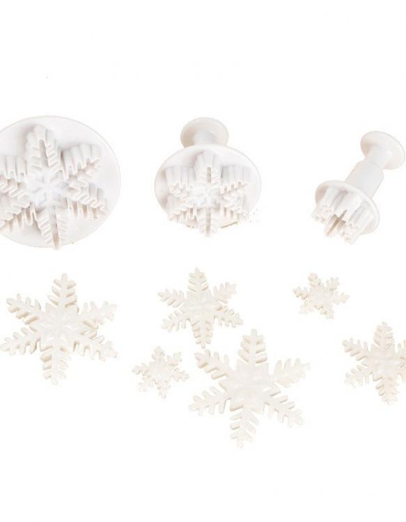 Kit 3 Emportes-Pièces Cristal de Glace