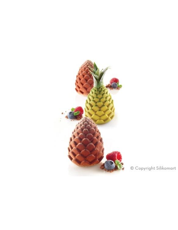 Moule en Silicone Foresta & Ananas