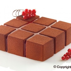 Moule en Silicone Cubik Silikomart