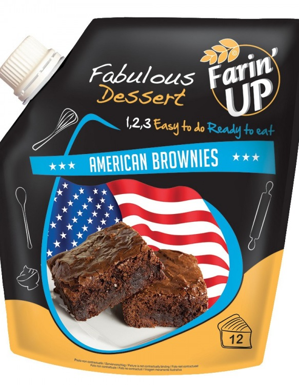 "Farin'UP American Brownies Mix ""All-In"""