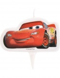 Bougie Plate - Cars ~ 7,5 cm