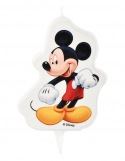 Bougie Plate - Mickey Mouse ~ 7,5 cm