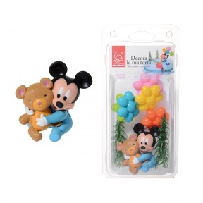 Kit Bébé Mickey Mouse Figurine