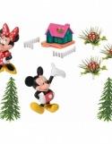 Kit Figurines Mickey & Minnie Mouse Maison