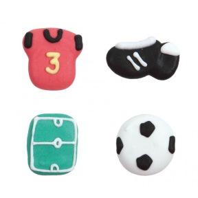 Décorations en Sucre Football