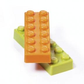 Moule pour chocolat brique Lego