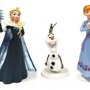 Pack de figurines Reine des Neiges