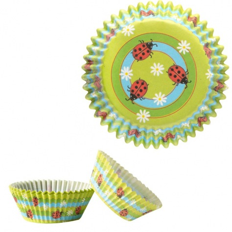 Caissettes Cupcakes Coccinelle