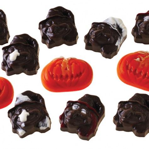 Moules chocolat Halloween