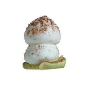 Champignons en sucre cacao 2,7cm