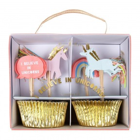 Kit cupcakes Licorne + toppers