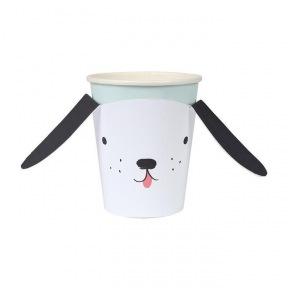 Gobelet chien carton 8p