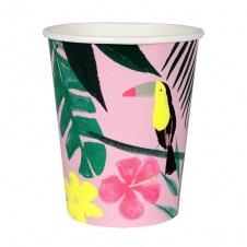 Gobelets tropical carton 12p