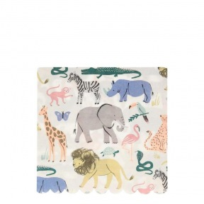 Serviettes Safari 20 p