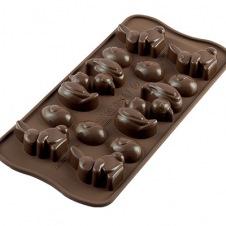 Moules à Chocolat Silicone Sujets de Pâques