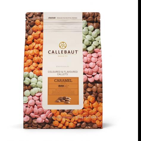 Callets Callebaut Chocolat Lait Caramel