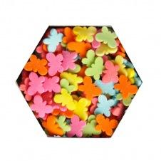 Confetti de Papillons Colorés
