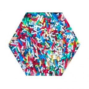 Granulés en Sucres Multicolores
