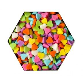 Confetti en Coeurs 3 Colorés