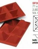 Moule en Silicone Pyramides Silikomart