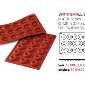 Moule en Silicone 18 Mini Savarins Ø 4,1 cm