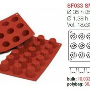 Moule en Silicone 18 Petits Bordelais  Silikomart