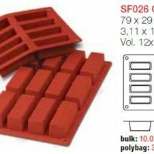 Moule en Silicone 12 Cakes ~ 7,9 cm Silikomart