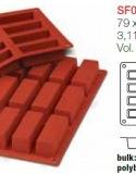 Moule en Silicone 12 Cakes ~ 7,9 cm
