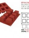 Moule Silicone Cubes Rubiks Cake