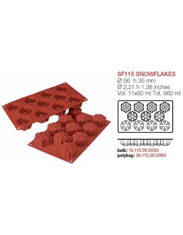 Moule Flocons de neige