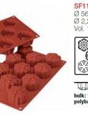 Moule en Silicone 8 Flocons de Neige Ø 5,6 cm