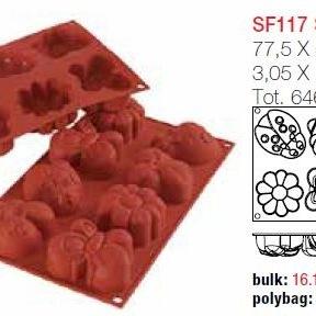 Moule en Silicone Assortiment 4 Sujet ~ 7,8 cm