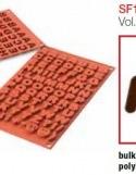 Moule en Silicone Lettres Alphabet Silikomart