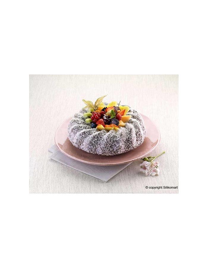 moule en silicone savarin cake 24 cm hobbyscuit. Black Bedroom Furniture Sets. Home Design Ideas