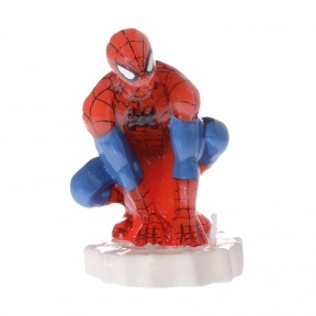 Bougie Spiderman ~ 8 cm