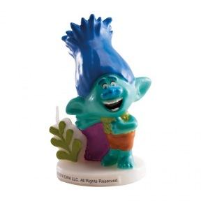 Bougie Trolls Garçon ~ 8 cm
