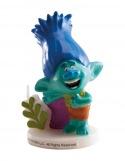 Bougie Anniversaire Trolls Garçon ~ 8 cm