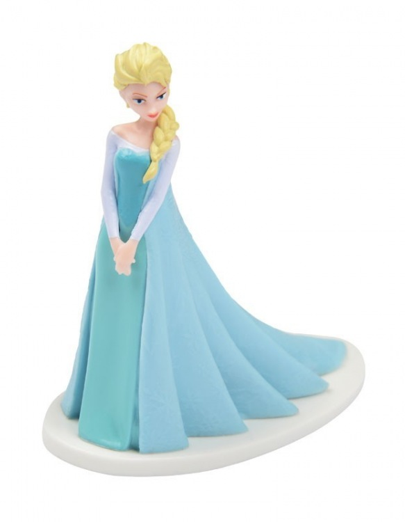 Figurines Reine des Neiges - Elsa ~ 8 cm